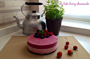 berry cheesecake senza cottura gluten free