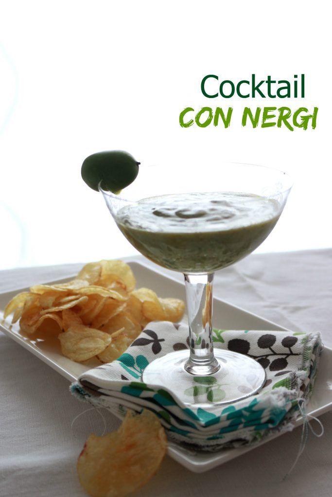 cocktail con nergi e pompelmo