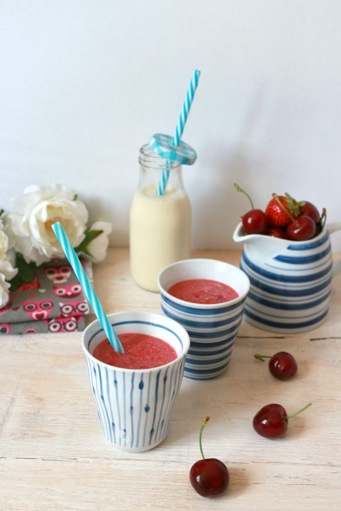 smoothie frutti rossi