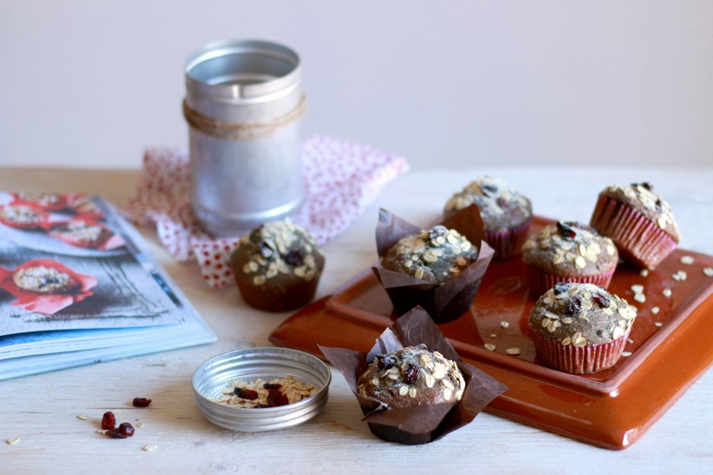muffin integrali mirtilli