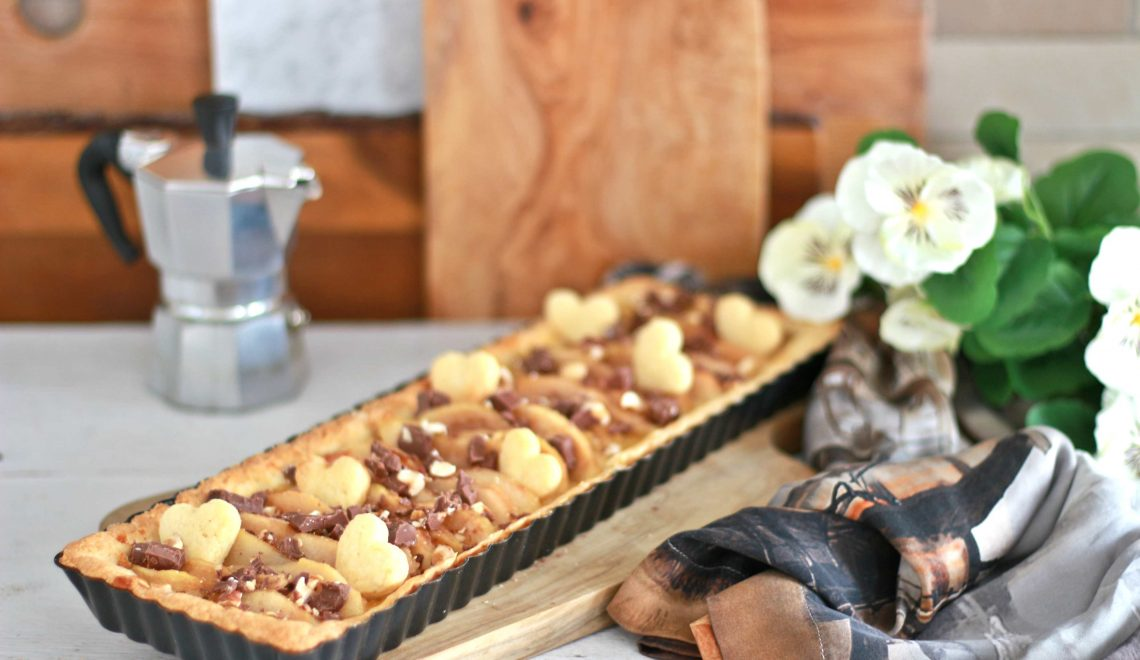 crostata pere gianduia